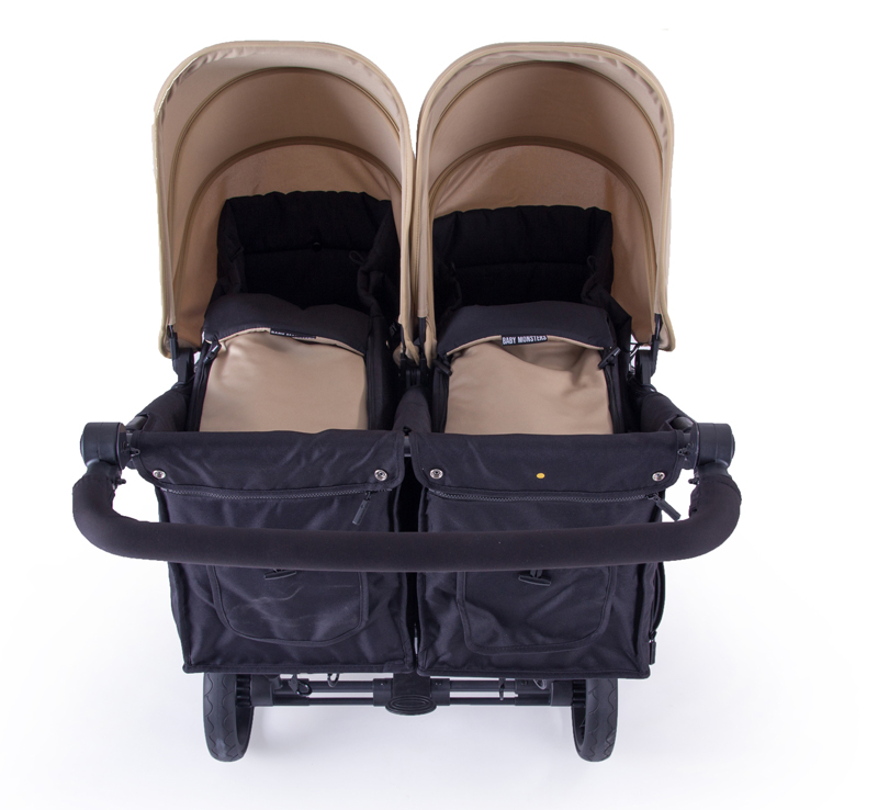 Baby Monsters Easy Twin 3.0S Reversible + Soft Carrycot