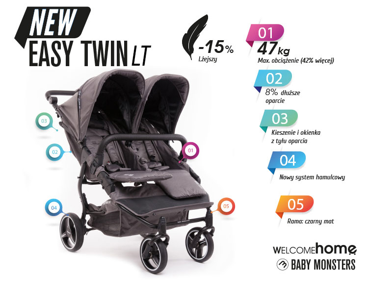 Baby Monsters Easy Twin 3.0s LT